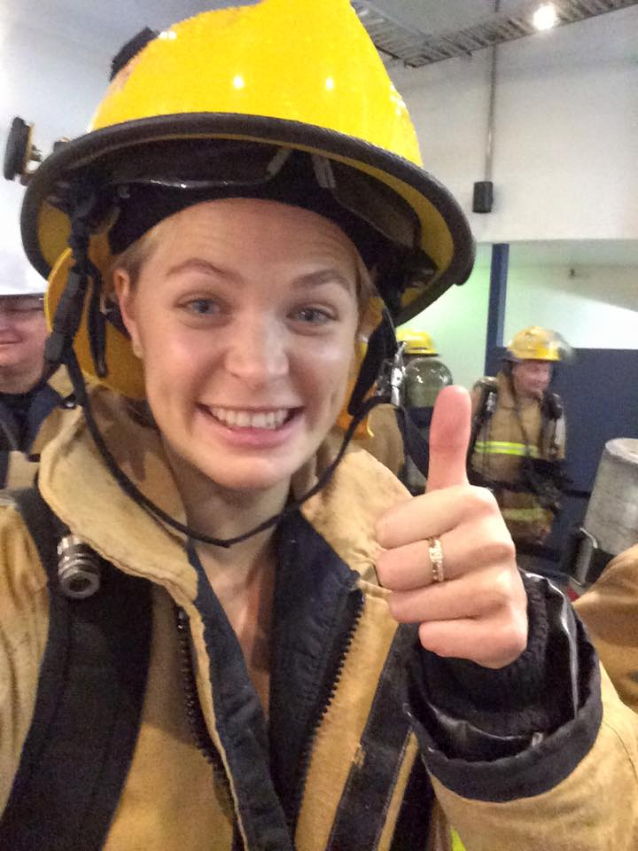 Ashlee Tulloch Fire Fighter